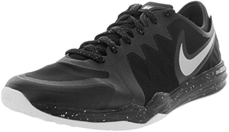 Nike Dual Fusion TR 3 Print - Zapatillas de Cross Training para Mujer, Color Negro/Gris/Blanco, Talla 38