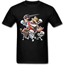 2016 New Fashion Clash Royale Knight And Skeletons Herren Tee Shirt XXXX-L