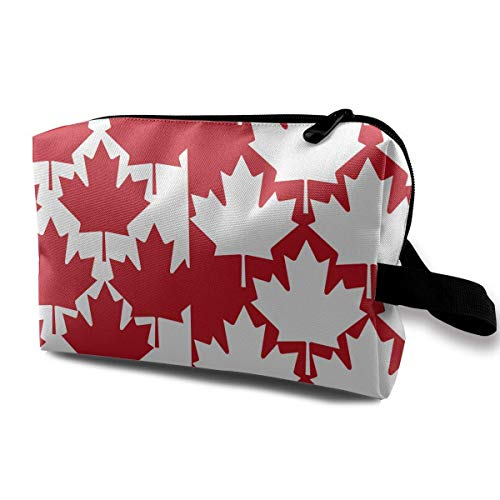 Canada Maple Leaf.jpg Portable Travel Makeup Cosmetic Bags Organizer Multifunction Case Toiletry Bags