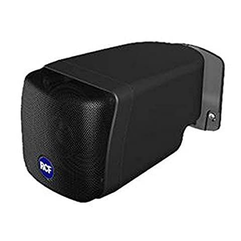 RCF miniature radio Coax 3.5inch Speaker–WITH Wall Mount–13000068–Black