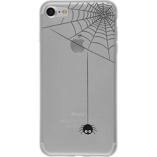 PhoneNatic Apple iPhone 7 / 8 Custodia in Silicone autunno M2 Case iPhone 7 / 8 + pellicola protettiva Motiv:03