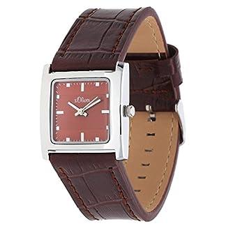 sOliver-Damen-Armbanduhr-Analog-Quarz-Leder-SO-15049-LQR
