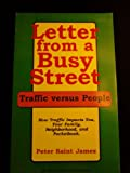 Letter From a Busy Street How Traffic Impacts You