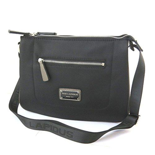 Bag designer 'Ted Lapidus'nero (2 scomparti)- 31x23.5x10 cm.