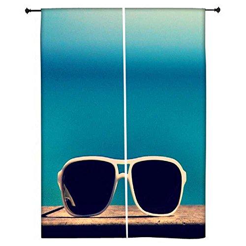snoogg-sun-sand-n-lunettes-polyester-drapes-rideaux-occultants-762-cm-l-x-1524-cm-l-lot-de-2-panneau