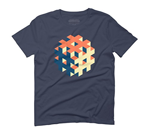 Hashtagged Men's Graphic T-Shirt - Design By Humans Navy