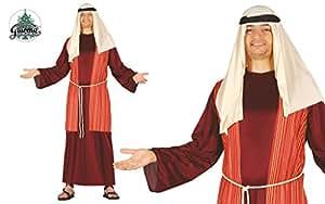 Costume pastore arabo rosso giudeo Presepe vivente folla Passione di Cristo