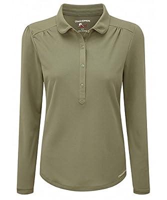 Craghoppers NosiLife Keisha II Langarm Polo Shirt Women - Poloshirt