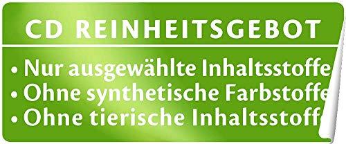 CD Tuchmaske Feuchtigkeit und Glättung - Vegane, feuchtigkeitsspendende Pflegemaske mit pflanzlichem Hyaluron und Wasserlilien-Extrakt für einen strahlenden Teint und glattere Haut - 5er-Pack