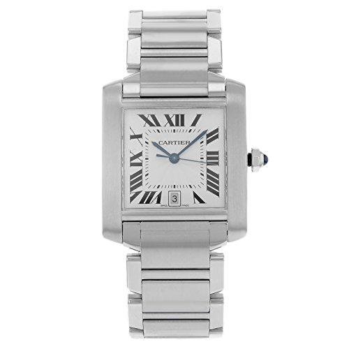 Cartier-Tank-Francaise-W51002Q3-Stainless-Steel-Automatic-Mens-Watch