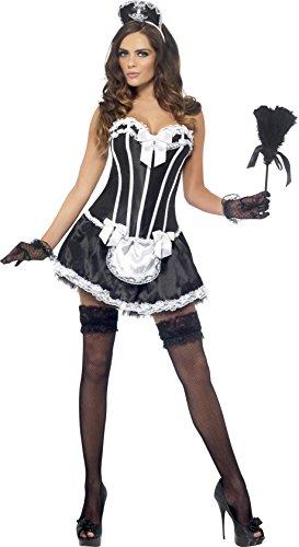 Sexy französische Hausfrau Kostüm, (French Up Dressing Kostüme)