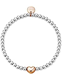 Esprit Damen Armband Edelstahl Love spheres ESBR11656A165