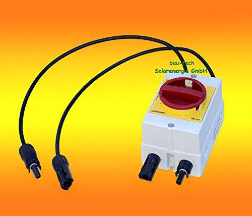 DC Trennschalter Mastervolt Soladin DC Switch 400V Solar Umschalter Ausschalter von bau-tech Solarenergie GmbH