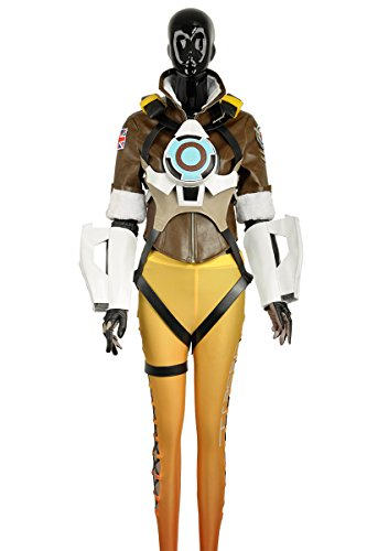 Preisvergleich Produktbild cosplayfly Erwachsene OW Tracer Lena Oxton Nanosuit Cosplay Kostüm für Erwachsene