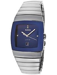 Rado Sintra Jubile Diamante Azul Dial plata de alta tecnología de cerámica ...