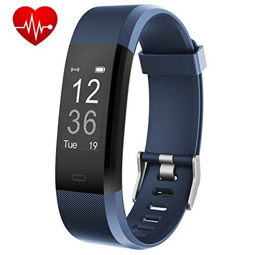 Muzili Monitor de Fitness YG3 Plus Pulsera Actividad Reloj Medidor Deportivo Inteligente Podómetro con Monitor de Ritmo cardíaco/Contador de Pasos/Sleep Monitor/Control de la cámara Android e iOS