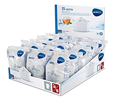 BRITA, Cartouche Filtrante pour Carafe, Maxtra - Pack 15