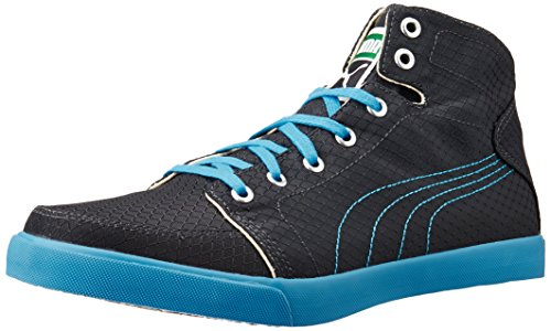Puma Men's Drongos DP Periscope, Cloisonné and White Canvas Sneakers - 8 UK