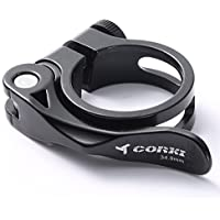 Corki Abrazadera de Aleación de Aluminio para Asiento de Bicicleta de Rápido Desenganche ...