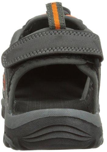 Hi-tec Shore, Unisex-Kinder Sandalen Grau (Charcoal/Grey/Tangelo 053)