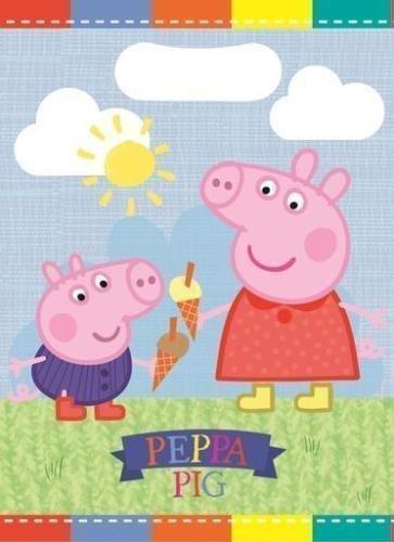 Gemma International Peppa Pig Plastique Pochette Surprise Pour Fête (paquet De 8)
