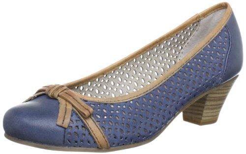 Jana Fashion 8-8-22319-20, Damen Pumps, Blau (NAVY COMB 890), EU 39 (UK 5.5) (US 5.5)