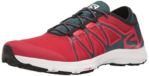 Salomon Crossamphibian Swift - Chaussures de Running - Homme Rouge (Barbados Cherry/Barbados Cherry/Reflecting Pond)