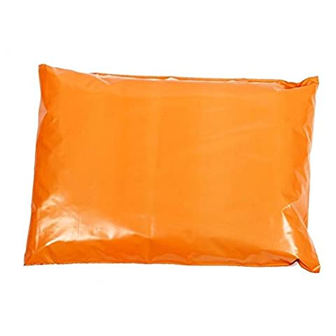 100 x Orange Strong Coloured Polythene Mailing Bags - 161mm x 240mm 6