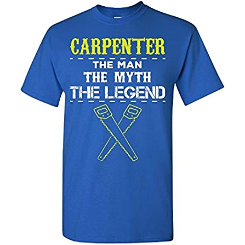Elagos Carpenter The Man The Myth The Legend - Adult Shirt