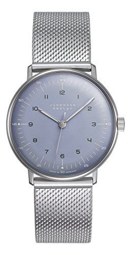 Ladies Junghans Max Bill Mechanical Watch 027/3600.44