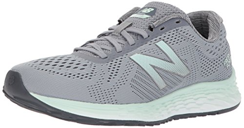 New Balance Women's Fresh Foam Arishi V1 Running Shoe, Steel/Thunder, 75 D US