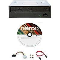 Pioneer BDR-209DBK 16X Blu-Ray CD DVD unidad interna de reproducción 3D + Software + Cable SATA + IDE al adaptador de alimentación SATA