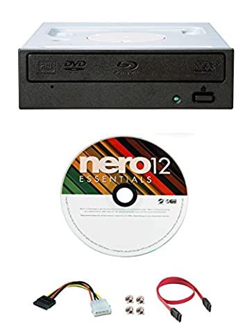 Pioneer BDR-209DBK 16X Blu-Ray CD DVD lecteur interne de lecture 3D + logiciel + câble (Sistema Dual Corto)