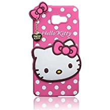 Original EDGEKART Cute Hello Kitty Back Cover for Samsung Galaxy J2 Prime - Pink
