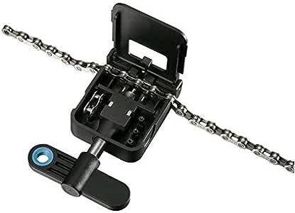 Tacx Kette 9 und 10-Speed Chain Rivet Link Extractor Kettennieter, schwarz, One Size
