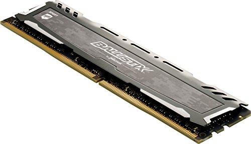 Ballistix Sport LT 16GB Kit (4GBx4) DDR4 2666 MT/s (PC4-21300) SR x8 DIMM 288-Pin - BLS4C4G4D26BFSB (Grey)
