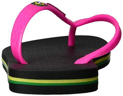 Ipanema Classic Brazil Ii Fem, Tongs Femme Mehrfarbig (black/pink)