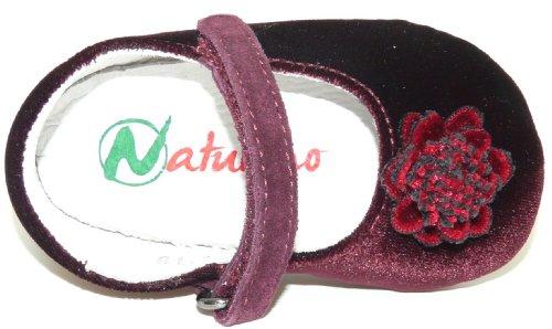 Naturino Pulcino 51 Mädchen Lauflern Ballerinas 2004549-01 Rot (Vinaccia)