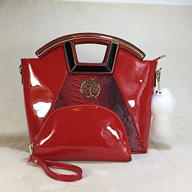 La donna pu Ufficio Casual & Carriera Tote Bag imposta,Ruby Royal Blue