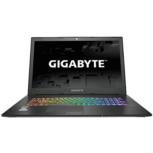 "GIGABYTE Sabre 17 Ordinateur Portable Ecran: 17.3"" Intel Core i7 8750H 4.2 Ghz 16 Go Ram 256 Go SSD + HDD 1To NVIDIA GeForce GTX 1050Ti 4Go GDDR5 Windows 10 Anthracite"