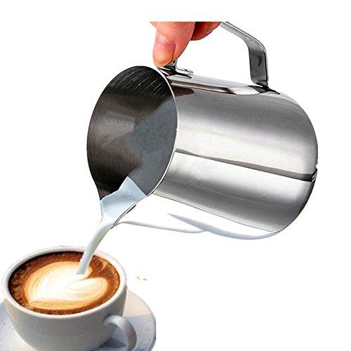 Cafe Luxe Milch aufschäumen Krug für Espresso Maschinen, Milch frothers Tasse, Baristas & Latte Art 150ML thumbnail