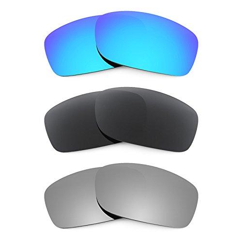 Revant Ersatzlinsen für Oakley Fives 3.0 Polarisiert 3 Paar Kombipack K015
