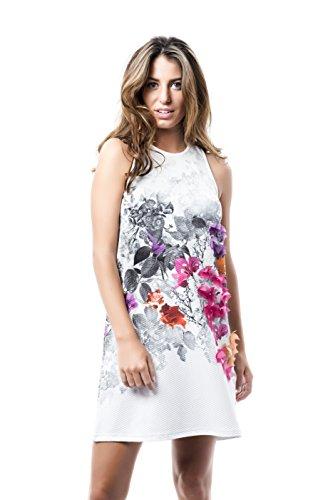 Mamatayoe Camarat, Camiseta para Mujer, Multicolor (Print), Medium (Tamaño del Fabricante:M)