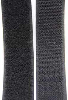 25 Meter Klettband Flausch+Haken 50mm schwarz