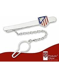 Pisacorbatas escudo Atlético de Madrid Plata de ley esmaltado [7053] - Modelo: 20-060
