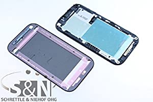 NG-Mobile Original HTC ONE SV Display Rahmen Cover Gehäuse + Kleber, schwarz