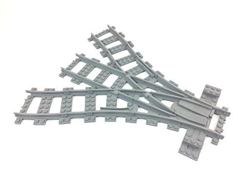 Trixbrix Dreifachschalter, kompatibel mit Lego Zug, gedruckt in 3D