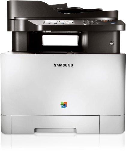 Samsung CLX-4195FW Multifunktionsgerät (Scanner, Kopierer, Drucker, Fax, 9600 x 600 dpi, USB 2.0) grau inkl. Schweizer Messer