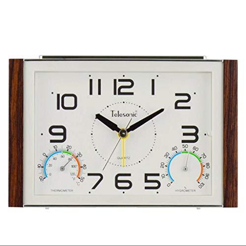 WENYAO Despertadores Reloj Tradicional Estable Temperatura