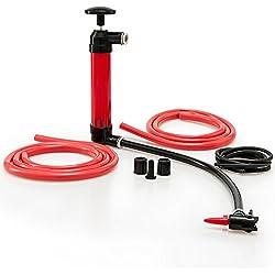 Pompe multi usage - 4 tuyaux & accessoires inclus - Vidange - Pompe à air